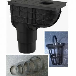 Underground Drainage Gully 110 Or 125 Mm Outlet For
