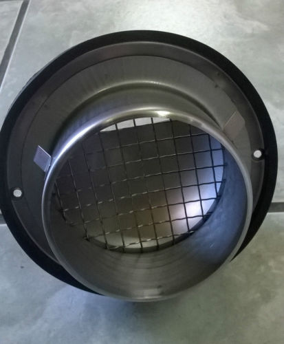 Stainless Steel Round Air Vent Grill 100 Mm 4 For